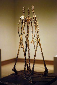 Alberto Giacometti - Three Men Walking