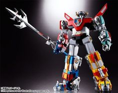 Voltron: Defender of the Universe Soul of Chogokin Figure