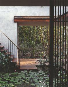 interior inspiration + design + home + style + Studio Mumbai Tropical Architecture, Architecture Details, Interior Architecture, Interior And Exterior, Interior Design, Estudio Mumbai, Inspiration Design, Interior Inspiration, Courtyard House