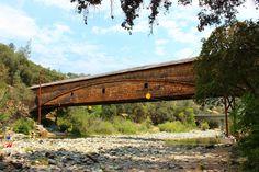 The Bridgeport Covered Bridge in Nevada County, California
