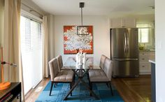 Sala de Jantar   Property Brothers - Buying & Selling - Season 3 - Julie e Rob