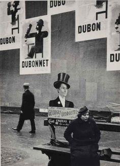 Paris, 1934 byAndré Kertész -- via Georges Nijs and firsttimeuser.tumblr.com