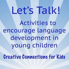 Encouraging language development in young children