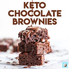 These ultimate keto brownies are back! Its fudge-y, dense, mouthwatering AND delicious, but best of all, its only 2g net carbs per brownie. Sugar Free Desserts, Sugar Free Recipes, Low Carb Recipes, Keto Desserts, Ketogenic Recipes, Fun Baking Recipes, Baking Tins, Easy Recipes, Cooking Recipes