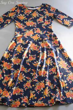 A second floral Lady Skater dress