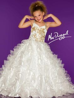 Phashionique: Apparel: Sugar White Gold Sparkle Ruffle Sweetheart Pageant Dress Girls Buy New: [UK & Ireland Only] Little Girl Pageant Dresses, Girls Formal Dresses, Unique Prom Dresses, Prom Dresses For Sale, Wedding Party Dresses, Pagent Dresses, Pageant Hair, Beauty Pageant, Beautiful Dresses