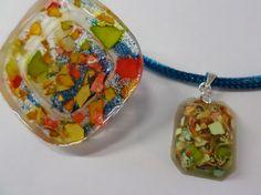 Návod na šperk z pryskyřice a vaječných skořápek