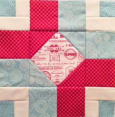 Aurifil Designer Block June - Want it, Need it, Quilt!