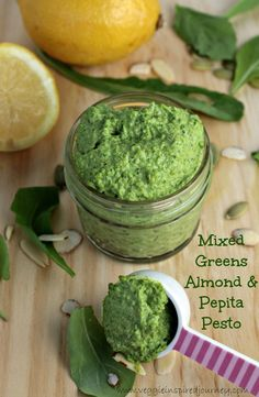Mixed Greens Almond & Pepita Pesto