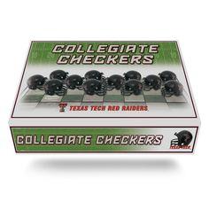 Texas Tech Red Raiders Checkers Set