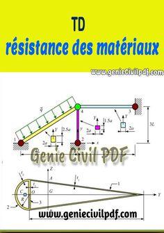 Travaux dirigés de résistance des matériaux Discipline, Civilization, Chart, Guide, Construction, Electrical Plan, Calculus, Building