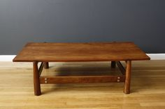 Vintage Mid-Century Coffee Table by Móveis Cimo $1400 MIDCENTURY MODERN FINDS