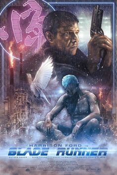 Blade Runner by Casey Callender - Home of the Alternative Movie Poster -AMP- Blade Runner Art, Blade Runner Poster, Blade Runner 2049, Tv Movie, Sci Fi Movies, Good Movies, Indie Movies, Action Movies, Cinema Movies