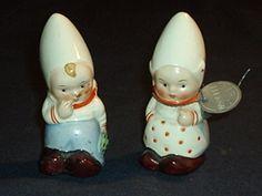 GOEBEL cruet salt and pepper - dutch boy and girl   eBay