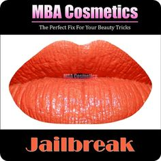 Orange HD Lip Paint Jail Break In Jar by MyBeautyAddiction on Etsy