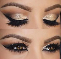 Gorgeous Eyes and Eye Lashes #MakeupInspiration #EyeMakeup #Eyelashes