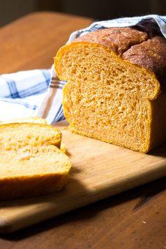 Sweet Potato Bread with Honey | #BreadBakers