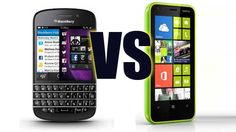 BlackBerry Q10 vs. Nokia 610. Chi vincerà?