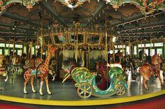 Merry Go Round - Glen Echo Park by Glyn Lowe Photoworks, via Flickr