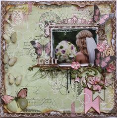 Beautiful Hair **NEW Bo Bunny's Primrose** ⊱✿-✿⊰ Follow the Scrapbook Pages board & visit GrannyEnchanted.Com for thousands of digital scrapbook freebies. ⊱✿-✿⊰