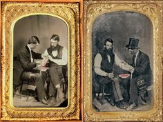 Bloodletting, early phlebotomy - Earliest known photographs