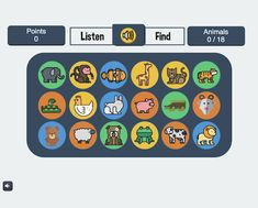 Storyline 3: English-Language Listening Comprehension Game E Learning, English Words, English Language, Comprehension, Esl, Challenges, Animal, Game, Illustration