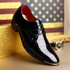 31.91$  Watch now - https://alitems.com/g/1e8d114494b01f4c715516525dc3e8/?i=5&ulp=https%3A%2F%2Fwww.aliexpress.com%2Fitem%2F2016-Classical-Men-Dress-Flat-Shoes-Luxury-Men-s-Business-Oxfords-Casual-Shoe-Black-Blue-Red%2F32622660642.html - 2016 Classical Men Dress Flat Shoes Luxury Men's Business Oxfords Casual Shoe Black / Blue / Red Leather Derby Casual Shoes 31.91$