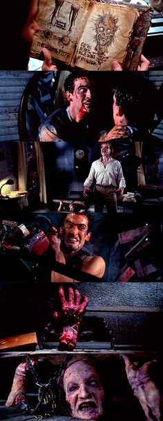 Evil Dead 2 : Dead By Dawn  ~. My personal favorite of the trilogy!