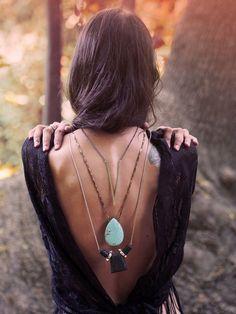 Beauty necklace concept