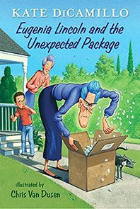 The Hardcover of the Eugenia Lincoln and the Unexpected Package (Tales from Deckawoo Drive Series by Kate DiCamillo, Chris Van Dusen I Love Books, New Books, Good Books, Books To Read, Minnesota, Kate Dicamillo, Youth Services, Chapter Books, Book Reader