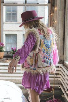 Penny Lane Embroidered Vest