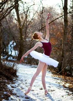 #winter #ballerina #photography