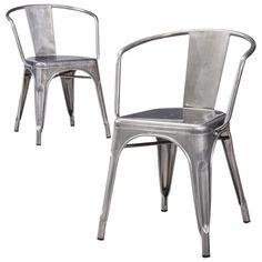 Carlisle Metal Dining Chair (Set of 2) : Target