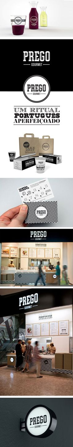 Prego Gourmet by Alexandre Mendes | #stationary #corporate #design #corporatedesign #logo #identity #branding #marketing <<< repinned by an #advertising agency from #Hamburg / #Germany - www.BlickeDeeler.de | Follow us on www.facebook.com/BlickeDeeler