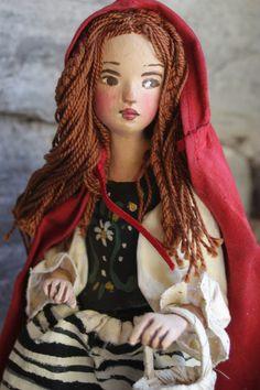 ...little red...by Nancy Wiley for EarthAngelsStudios.com