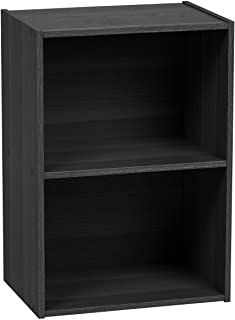 IRIS Wood Storage Shelf, Black for sale online Under Desk Storage, Wood Storage Shelves, Book Storage, Cube Storage, Wooden Shelves, Shelving, Bookshelves In Living Room, Bookshelves Kids, Contemporary Bookcase