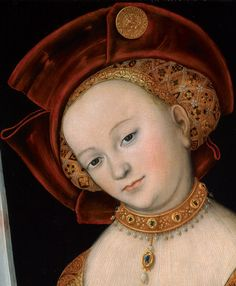 Judith with the head of Holofernes, Lucas Cranach (the younger?) 1526-1530