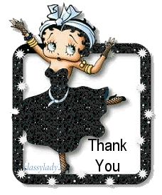 Betty Boop Thank You Cards - Google Search
