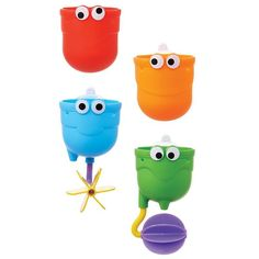 Munchkins Falls Bath Toy Set, Multicolor