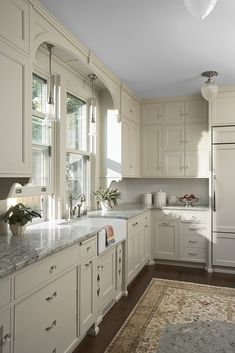[ Kitchen Cabinet Paint Color Benjamin Moore Oc Natural Cream Paint White Kitchen Cabinet Paint Color Inspiration Cream White Kitchen ] - Best Free Home Design Idea & Inspiration Cream And White Kitchen, Cream Colored Kitchen Cabinets, Grey Kitchen Cabinets, Painting Kitchen Cabinets, Kitchen Cabinet Design, Kitchen Redo, New Kitchen, Kitchen Remodel, White Cabinets