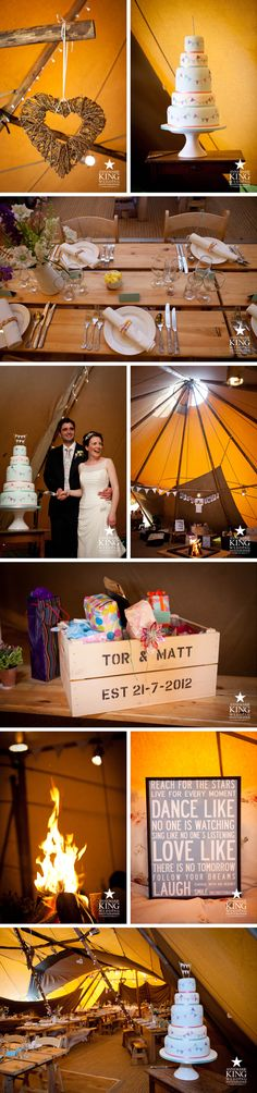 PapaKata teepee wedding - Easby Hall by Annemarie King | Country Wedding Photographer