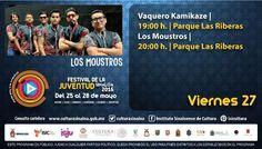 Festival de la Juventud Sinaloa 2016 #Culiacán, viernes 27 de mayo ¡Ponle play a la juventud!
