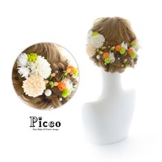 アートフラワー(造花)の髪飾り・花冠 | Picco(ピッコ)