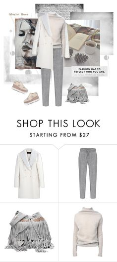 """""""Stay Neutral"""" by merlothues ❤ liked on Polyvore featuring Komar, Calvin Klein Collection, Rick Owens, STELLA McCARTNEY, fringe, StellaMcCartney, RickOwens, CalvinKlein and platformoxfords"""