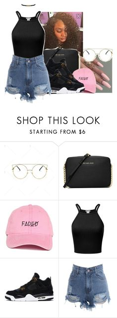 """""""Spring 2k17"""" by eazybreezy305 ❤ liked on Polyvore featuring MICHAEL Michael Kors, cute, simpleoutfit, SpringStyle and Spring2017"""