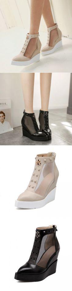 Red Insoles Footwear T Strap Journeys Stilettos Sandal Simple Fishnet Leather…