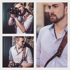 """""""Shoutout to Jim Williams from UK with his Pro Strap Lux Brown. Feel free to check his work at http://jimphotography.tumblr.com/ and…"""""""