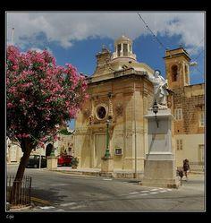 Lija, a small village in Malta