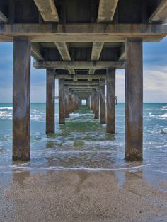 Port Aransas, Texas.  I walk under this pier many times a summer :)