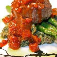 Moroccan Beef Stuffed Koftas | Tomato Onion Relish
